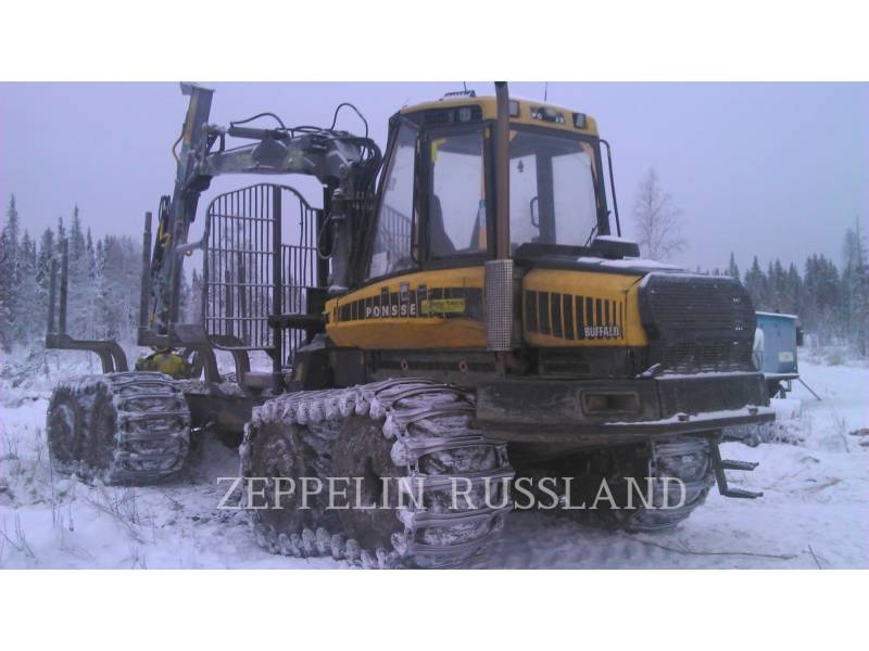 PONSSE LEŚNICTWO - FORWARDER BUFFALO 8W equipment  photo 1