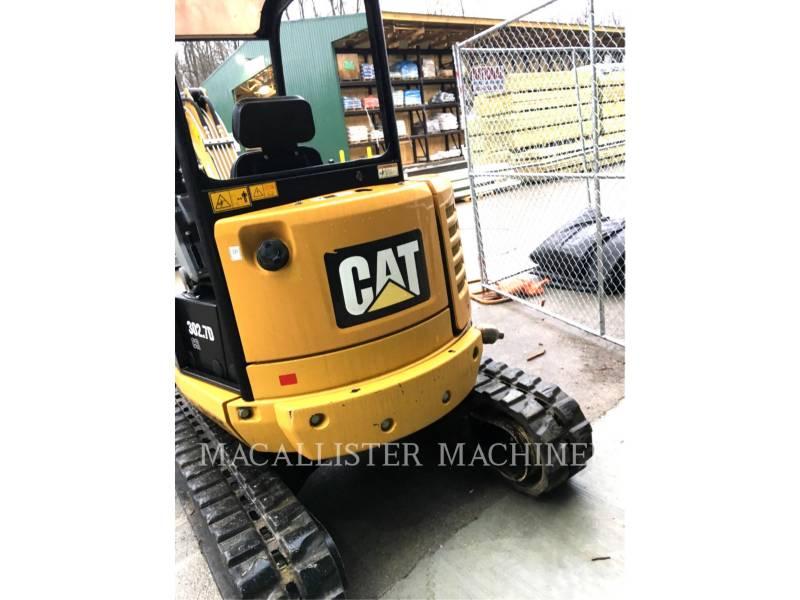 CATERPILLAR トラック油圧ショベル 302.7DCR equipment  photo 4