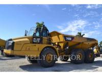 Caterpillar CAMIOANE ARTICULATE 740B equipment  photo 4