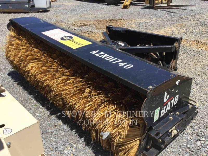 CATERPILLAR  BROOM BA18 equipment  photo 4