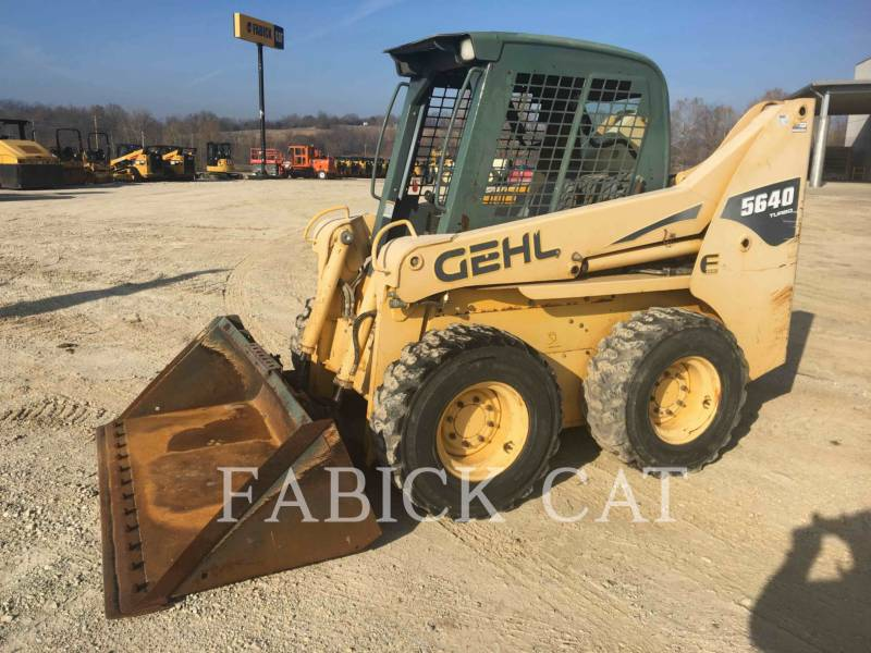 GEHL COMPANY MINICARGADORAS 5640 equipment  photo 1