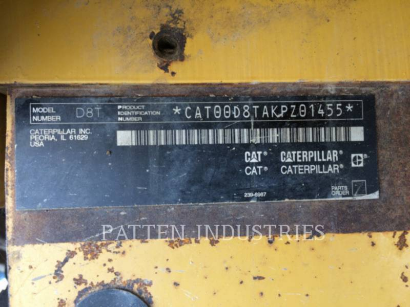 CATERPILLAR KETTENDOZER D8T equipment  photo 14