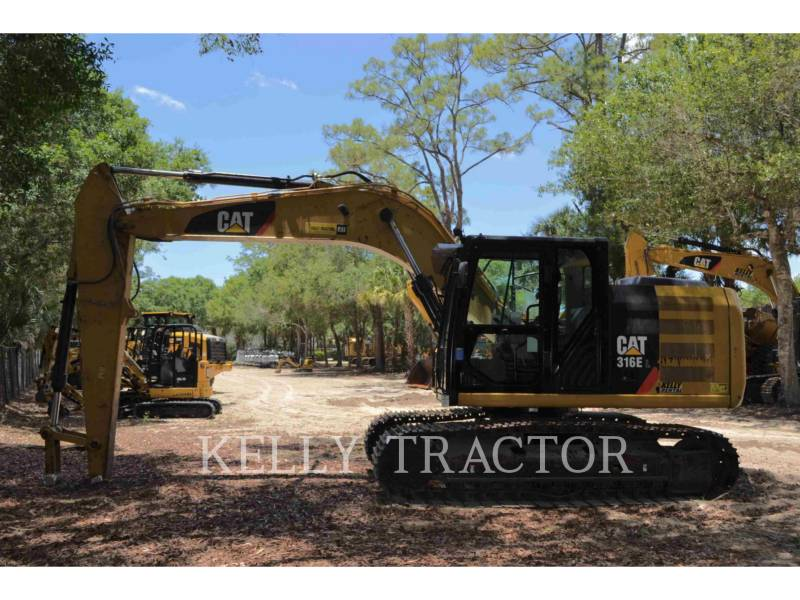 CATERPILLAR TRACK EXCAVATORS 316EL equipment  photo 5