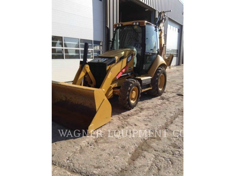 CATERPILLAR RETROESCAVADEIRAS 430F 4WDE equipment  photo 1