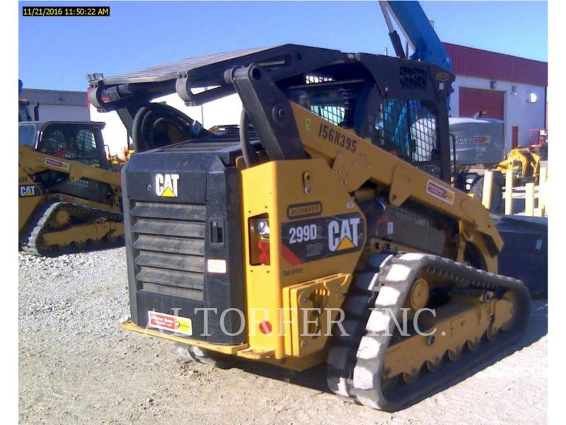 CATERPILLAR CHARGEURS COMPACTS RIGIDES 299D2XHP equipment  photo 3