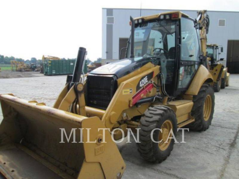 CATERPILLAR CHARGEUSES-PELLETEUSES 420E ST equipment  photo 2