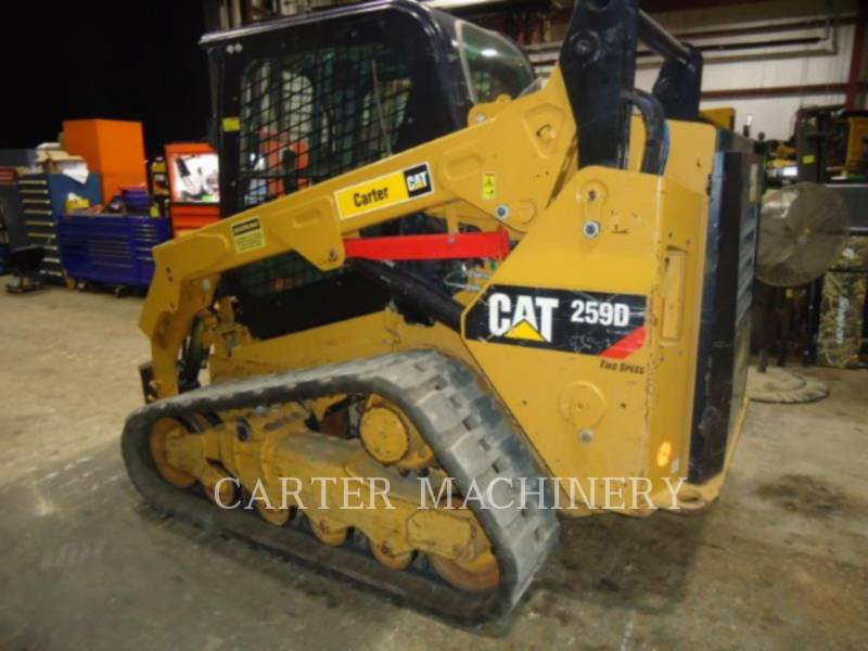 CATERPILLAR KOMPAKTLADER 259D ACW equipment  photo 3
