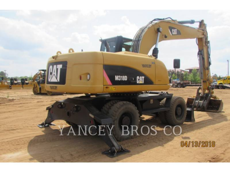 CATERPILLAR EXCAVADORAS DE RUEDAS M318D equipment  photo 5
