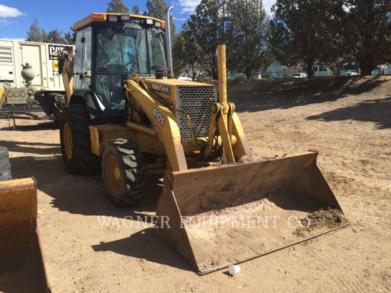 JOHN DEERE BACKHOE LOADERS 410E 4WD equipment  photo 3