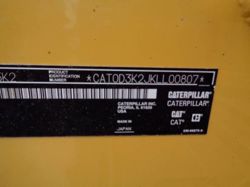 CATERPILLAR KETTENDOZER D3K2LGP equipment  photo 13