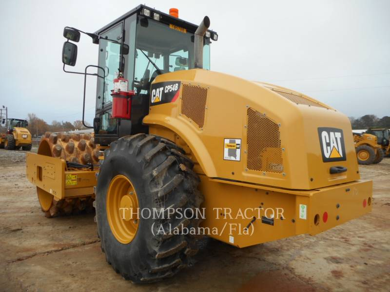 CATERPILLAR COMPACTEUR VIBRANT, MONOCYLINDRE À PIEDS DAMEURS CP54B equipment  photo 2