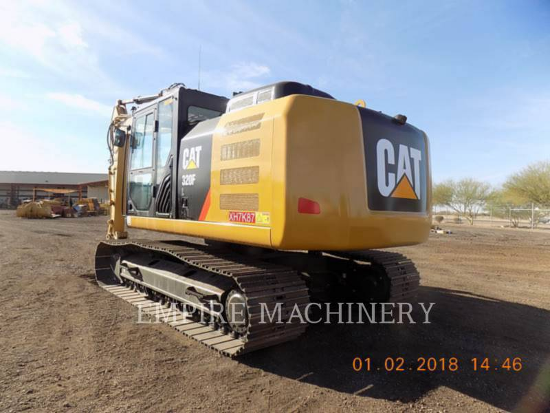 CATERPILLAR KETTEN-HYDRAULIKBAGGER 320FL equipment  photo 3