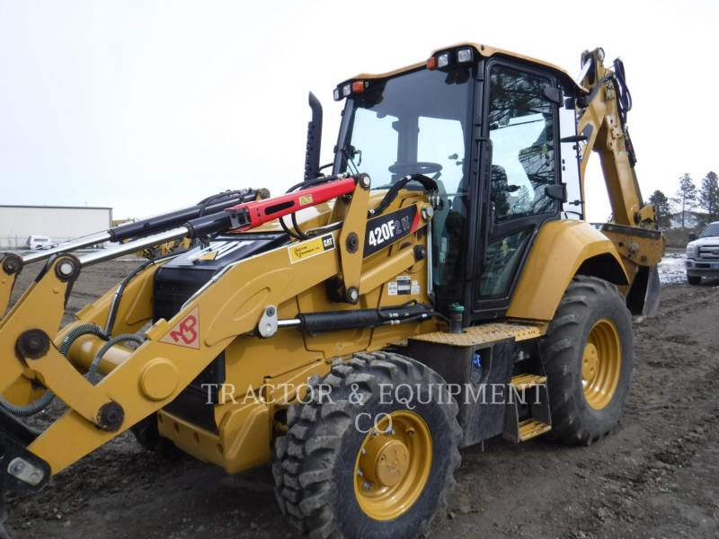 CATERPILLAR BACKHOE LOADERS 420F24ETCB equipment  photo 1