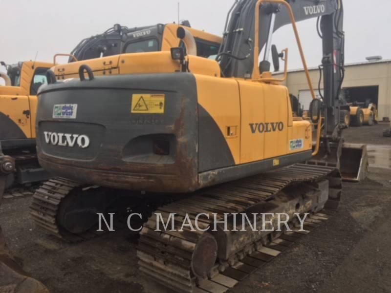 VOLVO CONSTRUCTION EQUIPMENT TRACK EXCAVATORS EC140BLC equipment  photo 6