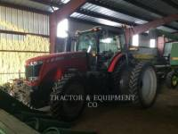 Equipment photo MASSEY FERGUSON 8660 TRACTEURS AGRICOLES 1