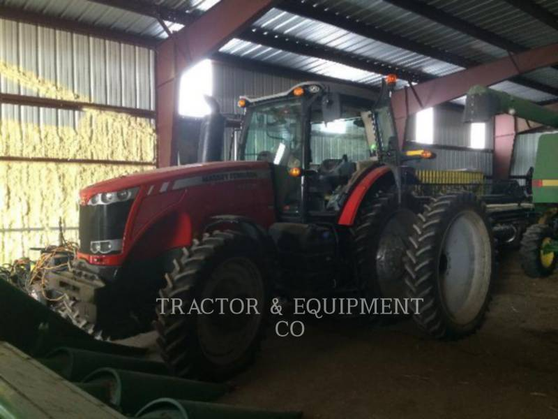 MASSEY FERGUSON TRACTEURS AGRICOLES 8660 equipment  photo 1