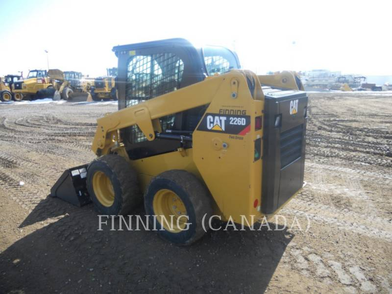 Caterpillar MINIÎNCĂRCĂTOARE RIGIDE MULTIFUNCŢIONALE 226D equipment  photo 3