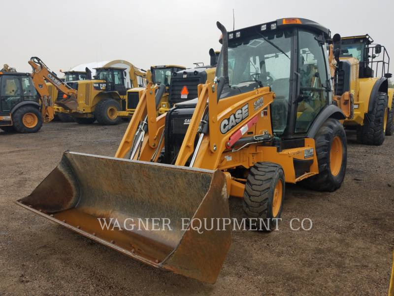 CASE BACKHOE LOADERS 580 SN equipment  photo 1