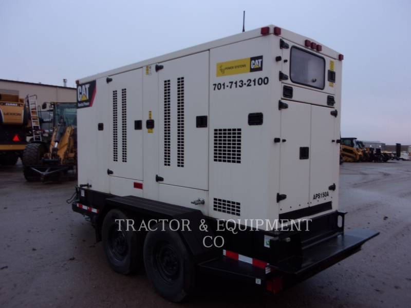 CATERPILLAR MOBILE GENERATOR SETS APS150 equipment  photo 1