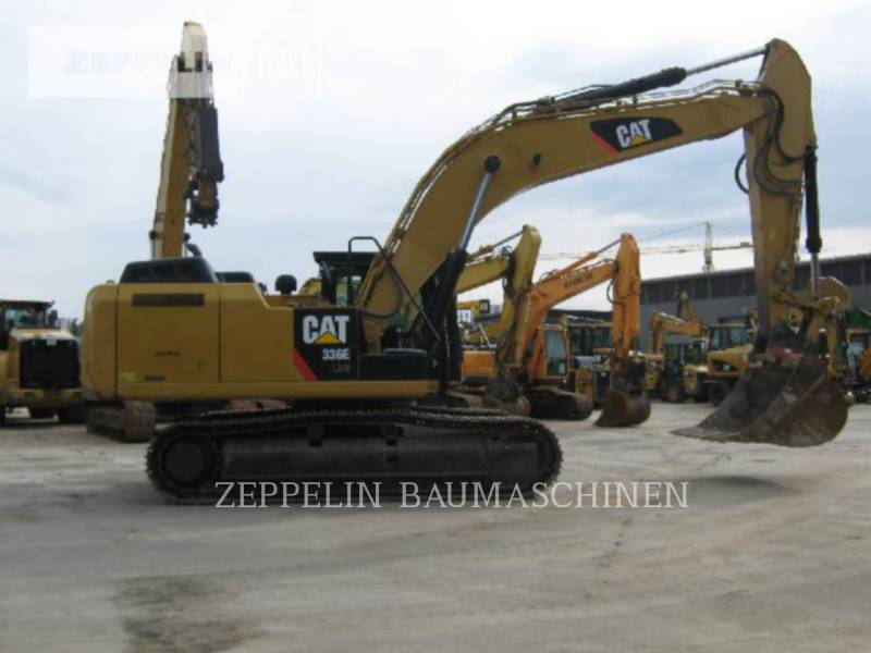 CATERPILLAR KETTEN-HYDRAULIKBAGGER 336ELNH equipment  photo 5