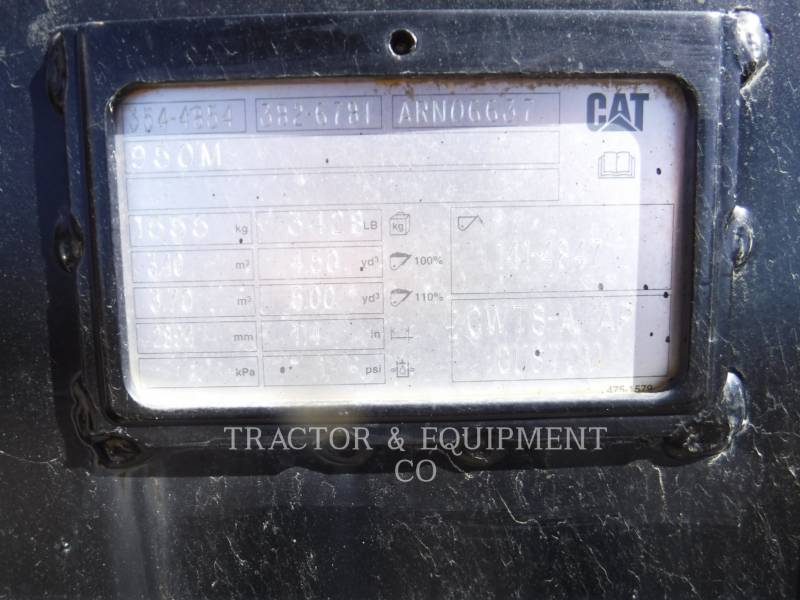 CATERPILLAR WT - BUCKET 950M equipment  photo 3