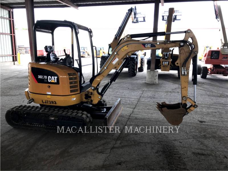 CATERPILLAR KETTEN-HYDRAULIKBAGGER 302.7D equipment  photo 2