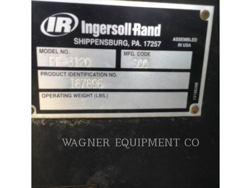 INGERSOLL-RAND SCHWARZDECKENFERTIGER PF3120 equipment  photo 5