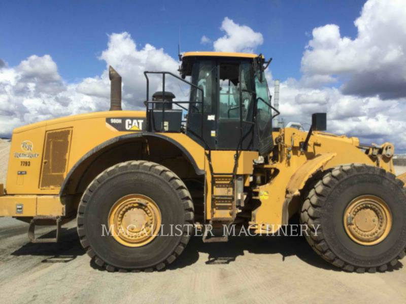 CATERPILLAR CARGADORES DE RUEDAS 980H equipment  photo 4