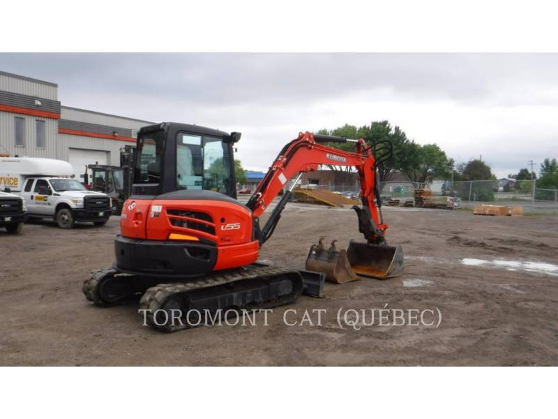 KUBOTA CORPORATION TRACK EXCAVATORS U55 equipment  photo 4