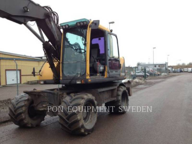 VOLVO CONSTRUCTION EQUIPMENT WHEEL EXCAVATORS EW160B equipment  photo 1