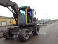 Equipment photo VOLVO CONSTRUCTION EQUIPMENT EW160B PELLES SUR PNEUS 1