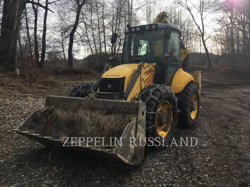 NEW HOLLAND LTD. BAGGERLADER B115B equipment  photo 1