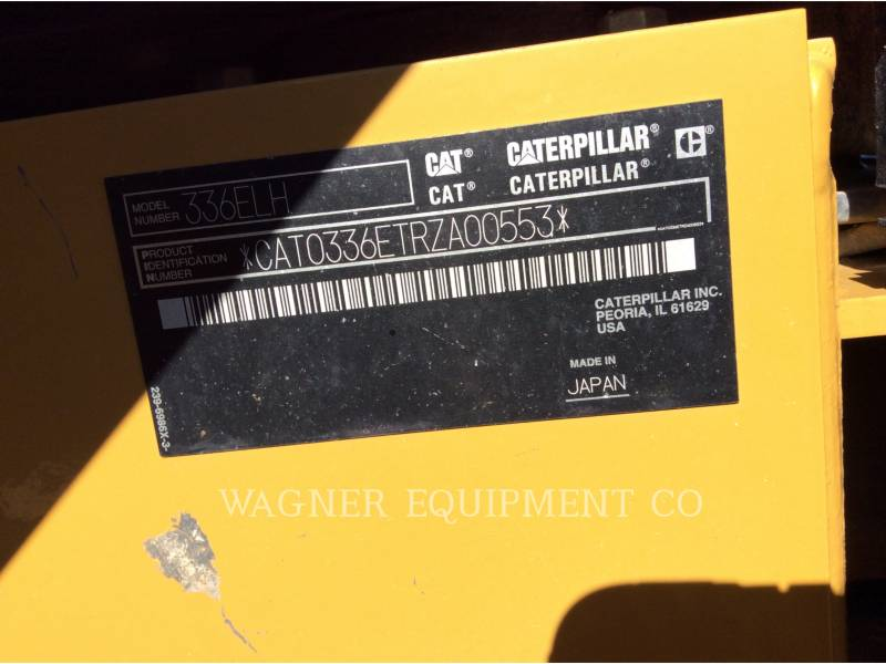 Caterpillar EXCAVATOARE PE ŞENILE 336ELH equipment  photo 5