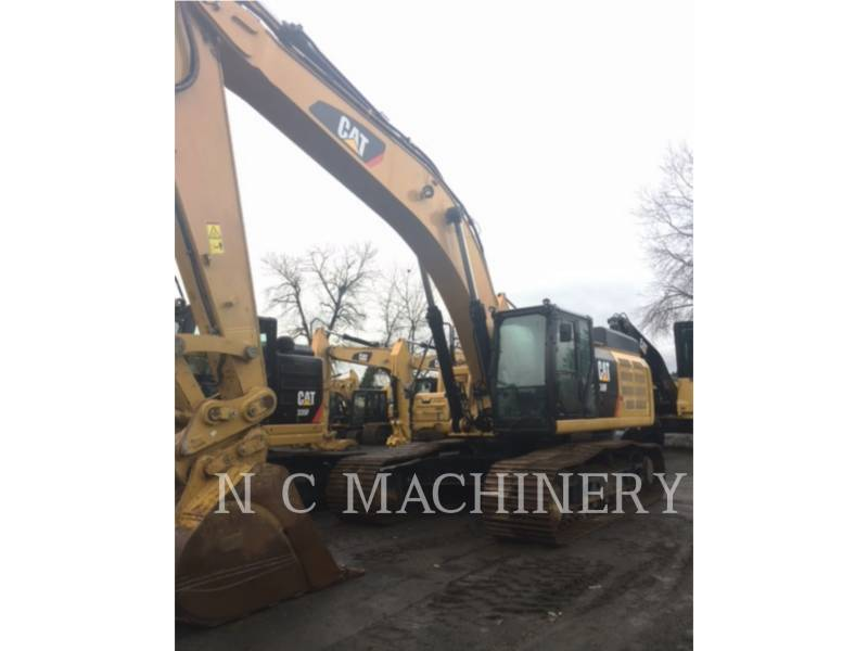 CATERPILLAR TRACK EXCAVATORS 349F L equipment  photo 1