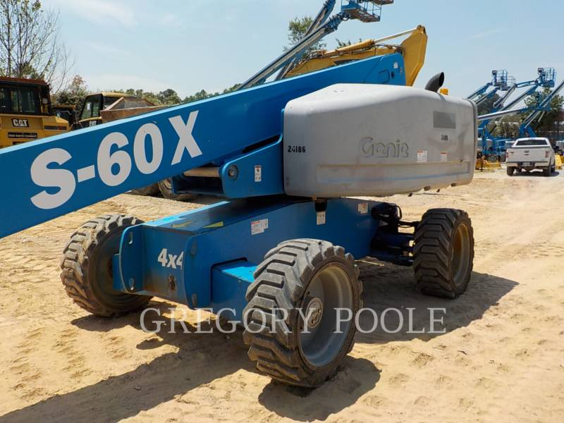 GENIE INDUSTRIES LIFT - BOOM S60X equipment  photo 6