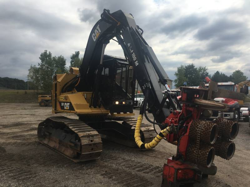 CATERPILLAR FORESTRY - FELLER BUNCHERS - TRACK 501HD equipment  photo 7