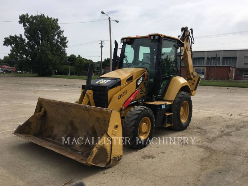 CATERPILLAR TERNE 420F2ST equipment  photo 2