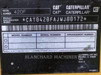 CATERPILLAR RETROEXCAVADORAS CARGADORAS 420FIT equipment  photo 6