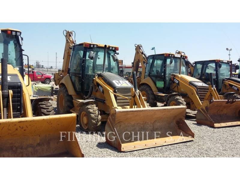 CATERPILLAR BAGGERLADER 416E equipment  photo 2