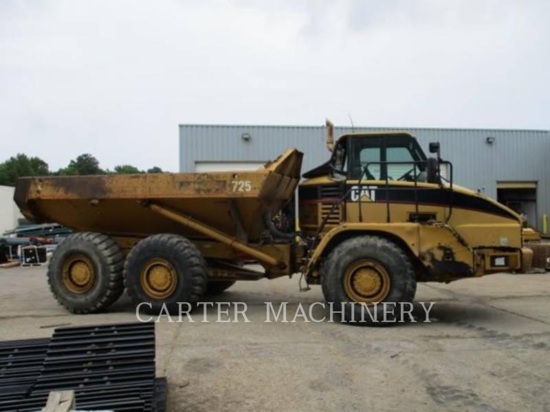 CATERPILLAR KNICKGELENKTE MULDENKIPPER 725 equipment  photo 5