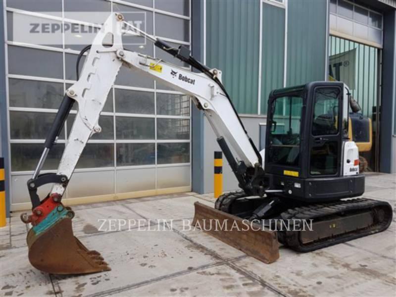 BOBCAT トラック油圧ショベル E50 equipment  photo 1