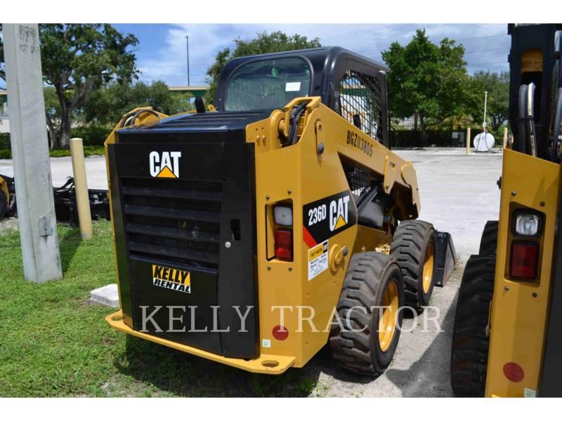 CATERPILLAR SKID STEER LOADERS 236D equipment  photo 4