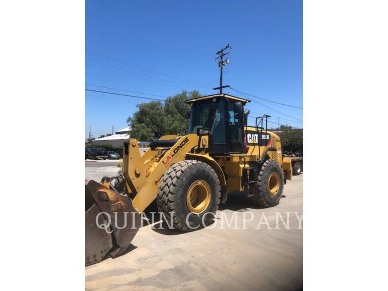 CATERPILLAR CARGADORES DE RUEDAS 950K equipment  photo 2