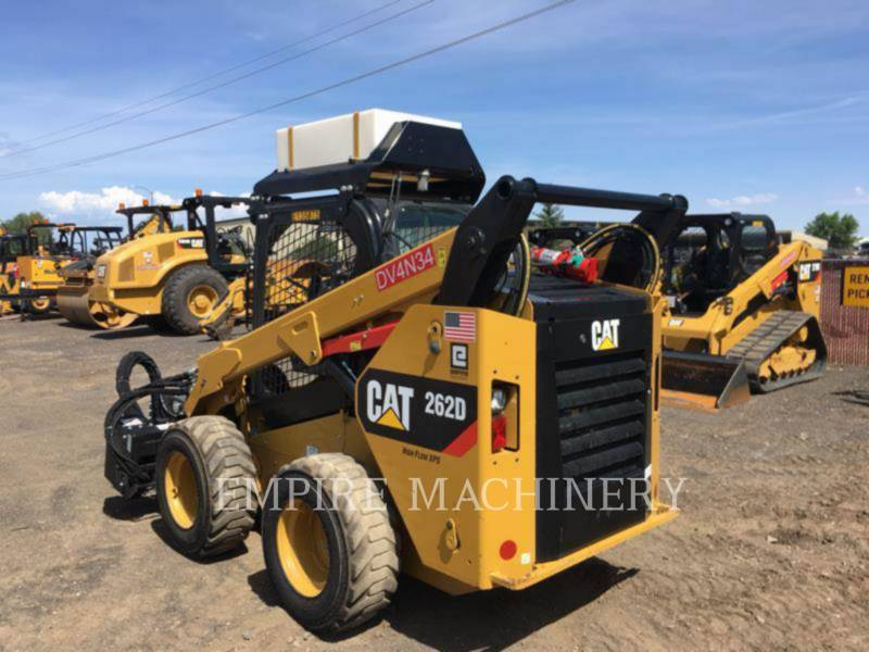 CATERPILLAR SKID STEER LOADERS 262D equipment  photo 4