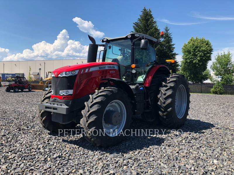 AGCO-MASSEY FERGUSON AG TRACTORS MF8727 equipment  photo 1