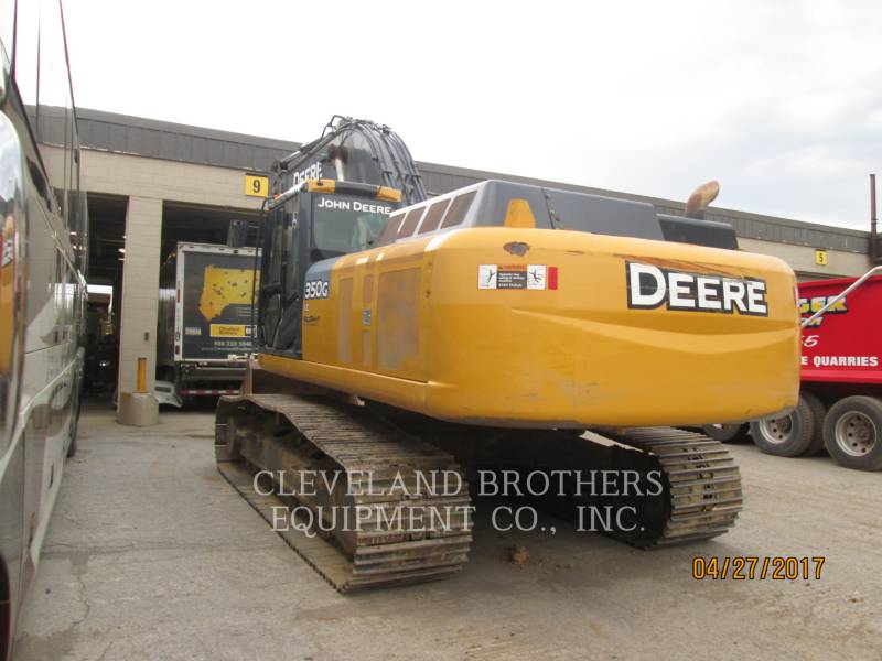 DEERE & CO. TRACK EXCAVATORS 350G equipment  photo 4