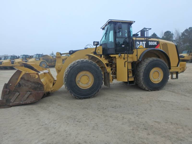CATERPILLAR WHEEL LOADERS/INTEGRATED TOOLCARRIERS 980K equipment  photo 2