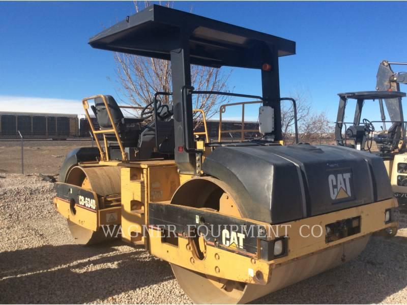 CATERPILLAR COMPACTORS CB-634D equipment  photo 3