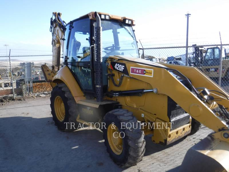 CATERPILLAR BAGGERLADER 420FST equipment  photo 7