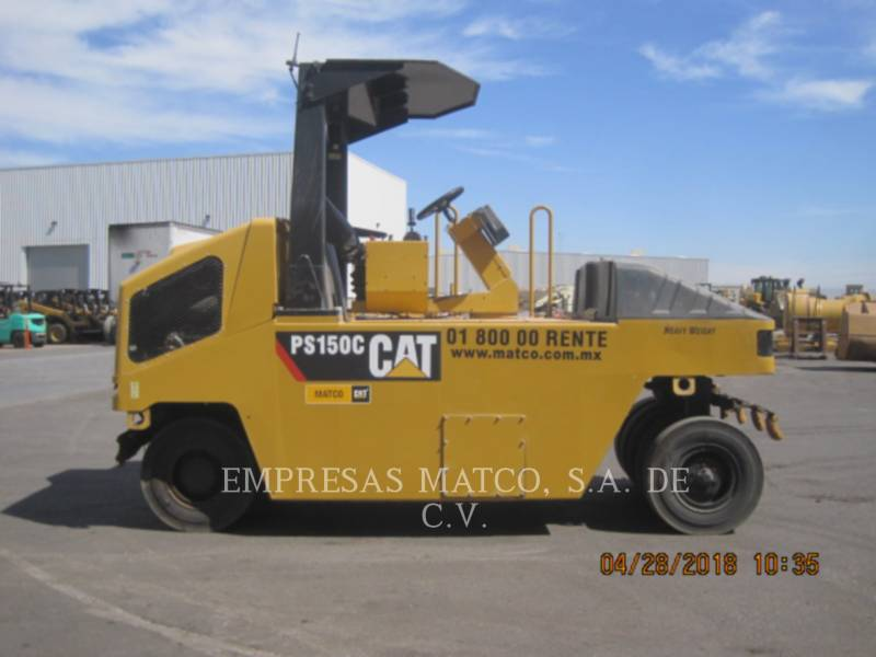 CATERPILLAR COMPATTATORI GOMMATI PNEUMATICI PS-150C equipment  photo 1